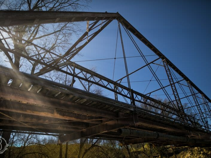 Bridge shot from underneath